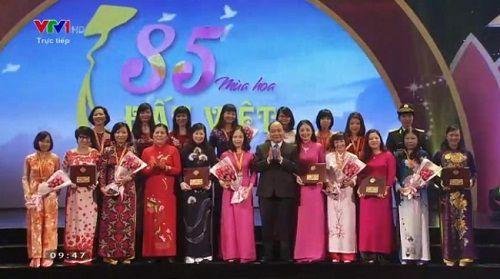 Giải thưởng phụ nữ Việt Nam 2015: vinh danh 19 tập thể, cá nhân xuất sắc